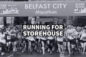Running for Storehouse Bethany Church  - Belfast Northern Ireland
