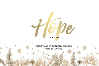 Celebrate Christmas at Bethany Church Bethany Church  - Belfast Northern Ireland