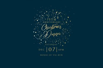 75TH ANNIVERSARY – CHRISTMAS DINNER Bethany Church  - Belfast Northern Ireland